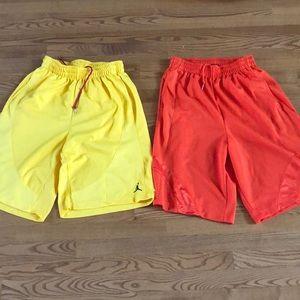 Air Jordan men's med shorts